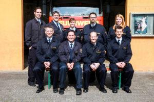Vorstand Feuerwehr Trebur 2016kleiner